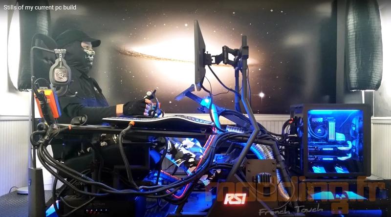 Il construit un simulateur StarCitizen dans sa chambre