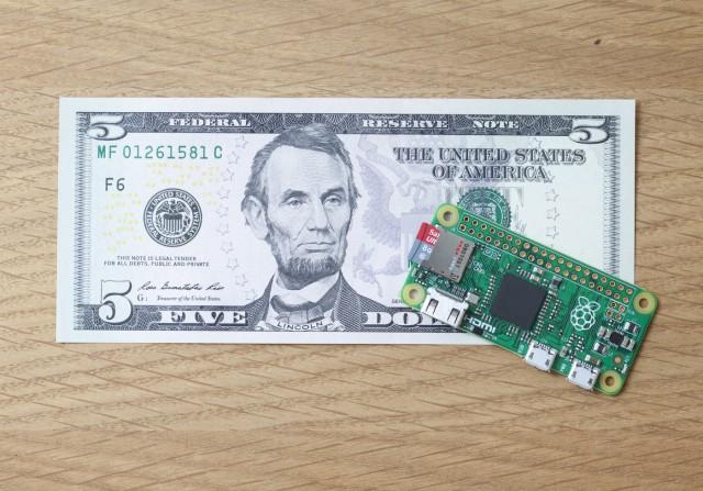 Raspberry Pi lance un ordinateur à 5$