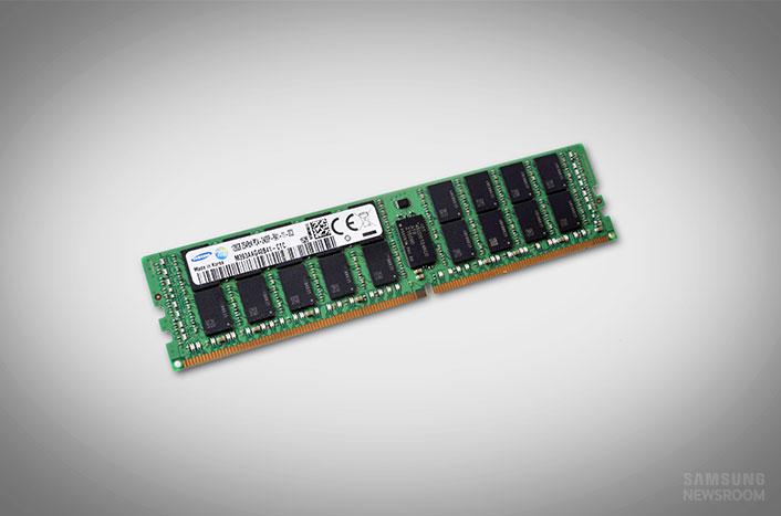 Samsung annonce des barrettes de DDR4 128 Go