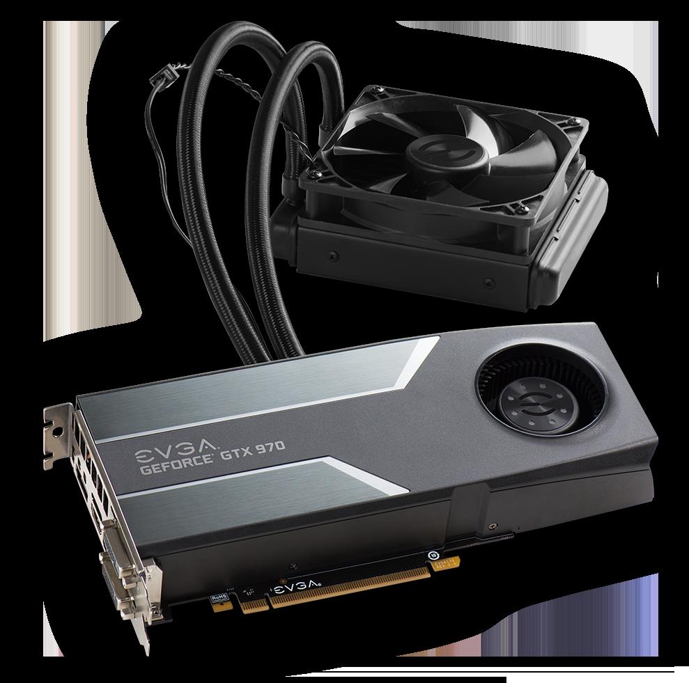 EVGA annonce une GeForce GTX 970 Hybride