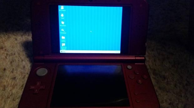 Windows 95 peut démarrer sur une Nintendo 3DS