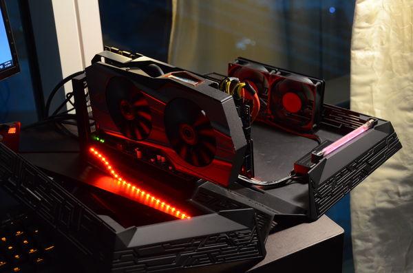 Asus présente un Dock GPU