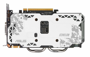 Asus Echelon GTX 950 Limited Edition Artic Camo Backplate