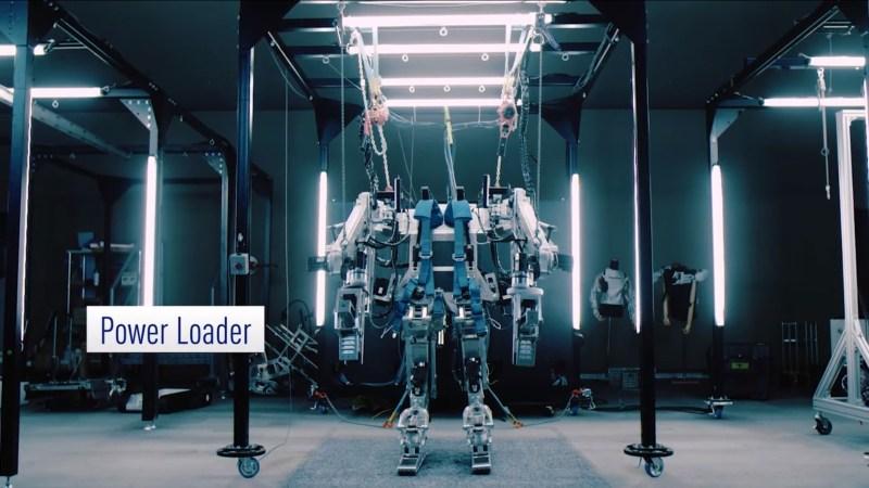 Panasonic présente des exosquelettes...