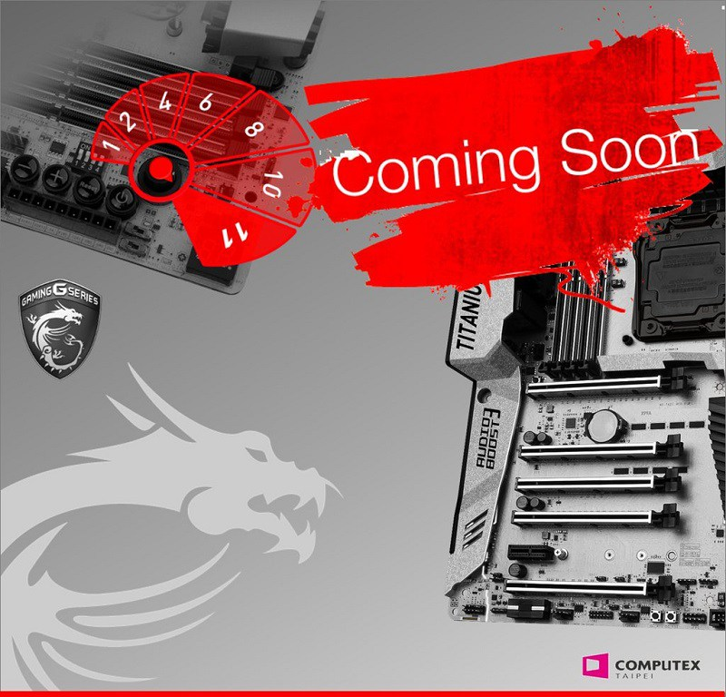 MSI tease la XPOWER Gaming Titanium