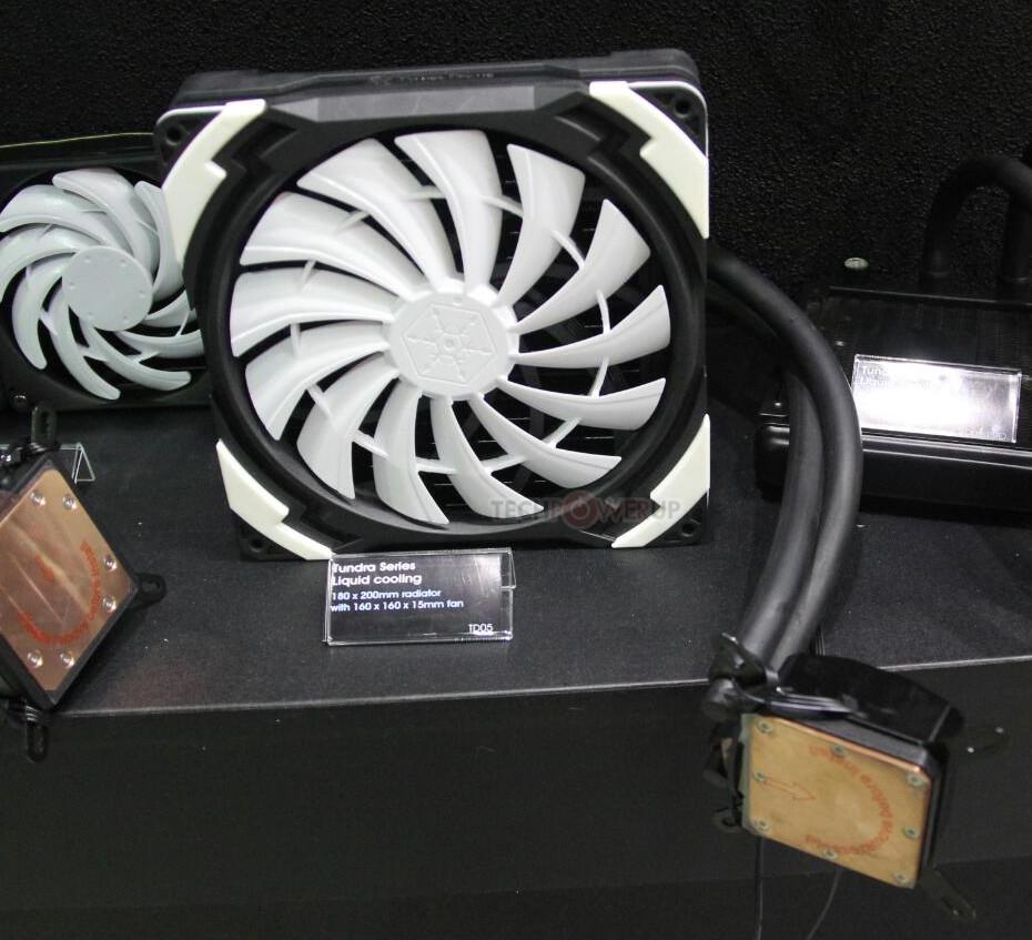 SilverStone dévoile un aio avec un ventilo de 160mm !