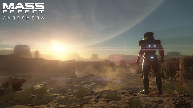 Mass Effect Andromeda, paramètres graphiques et screenshots 4K