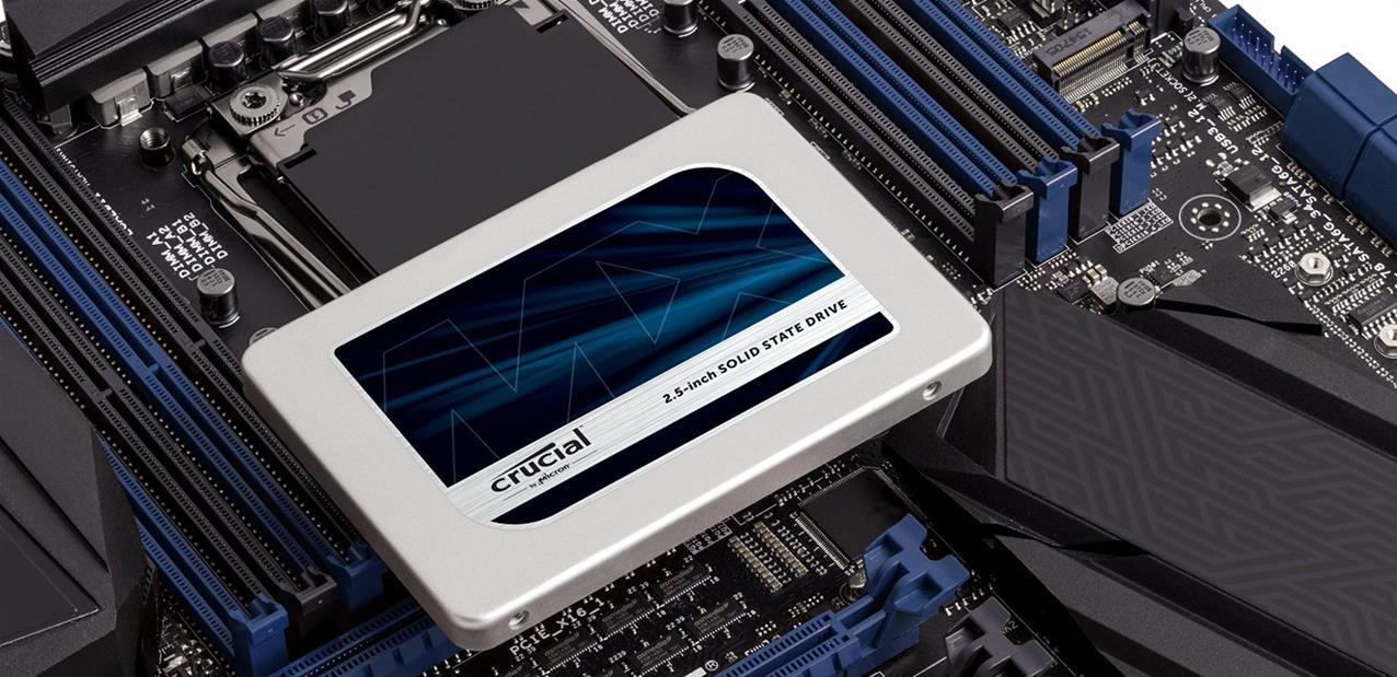 Crucial renouvelle son line-up de SSDs avec les MX300