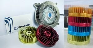 CoolChip 1U Low Profile Kinetic Cooler Color Options