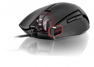 Tt eSPORTS VENTUS R Optical Gaming Mouse uses high quality OMRON switches with a 20 million click lifecycle