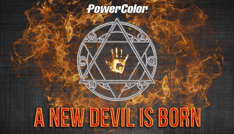 Le diable voit rouge chez PowerColor