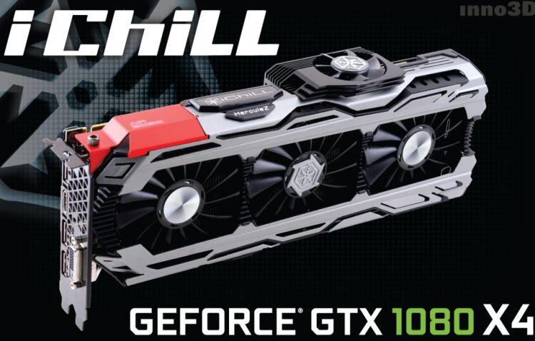 Inno3D lance une grosse GTX 1080 iChill X4