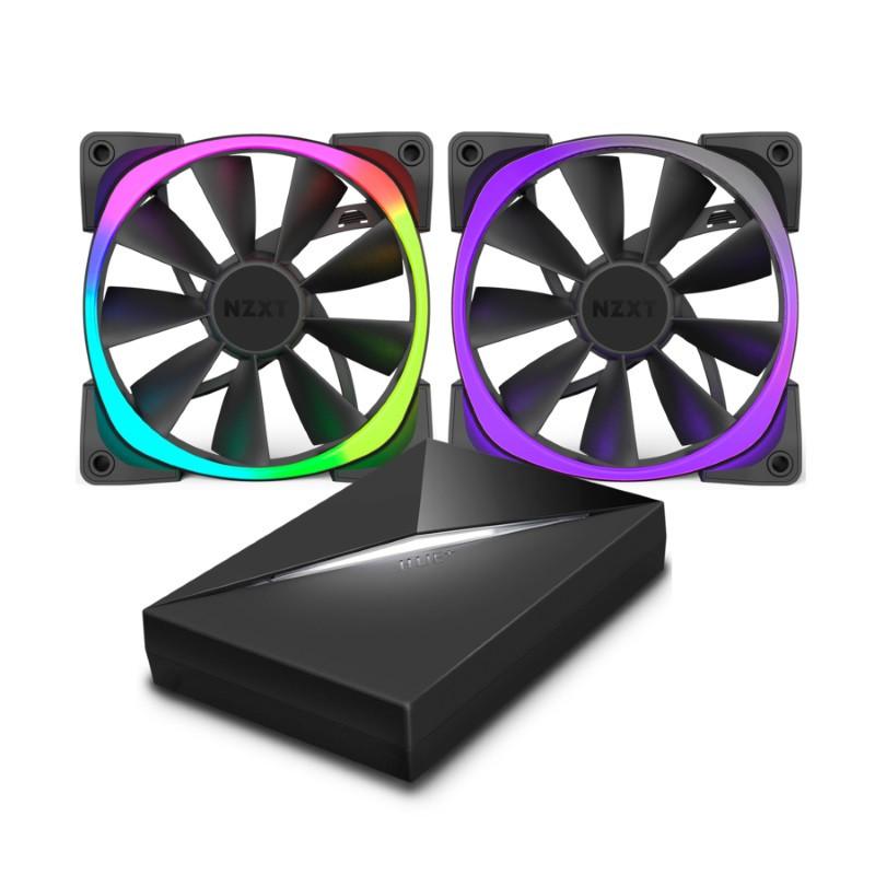 NZXT sort aussi des ventilateurs RGB