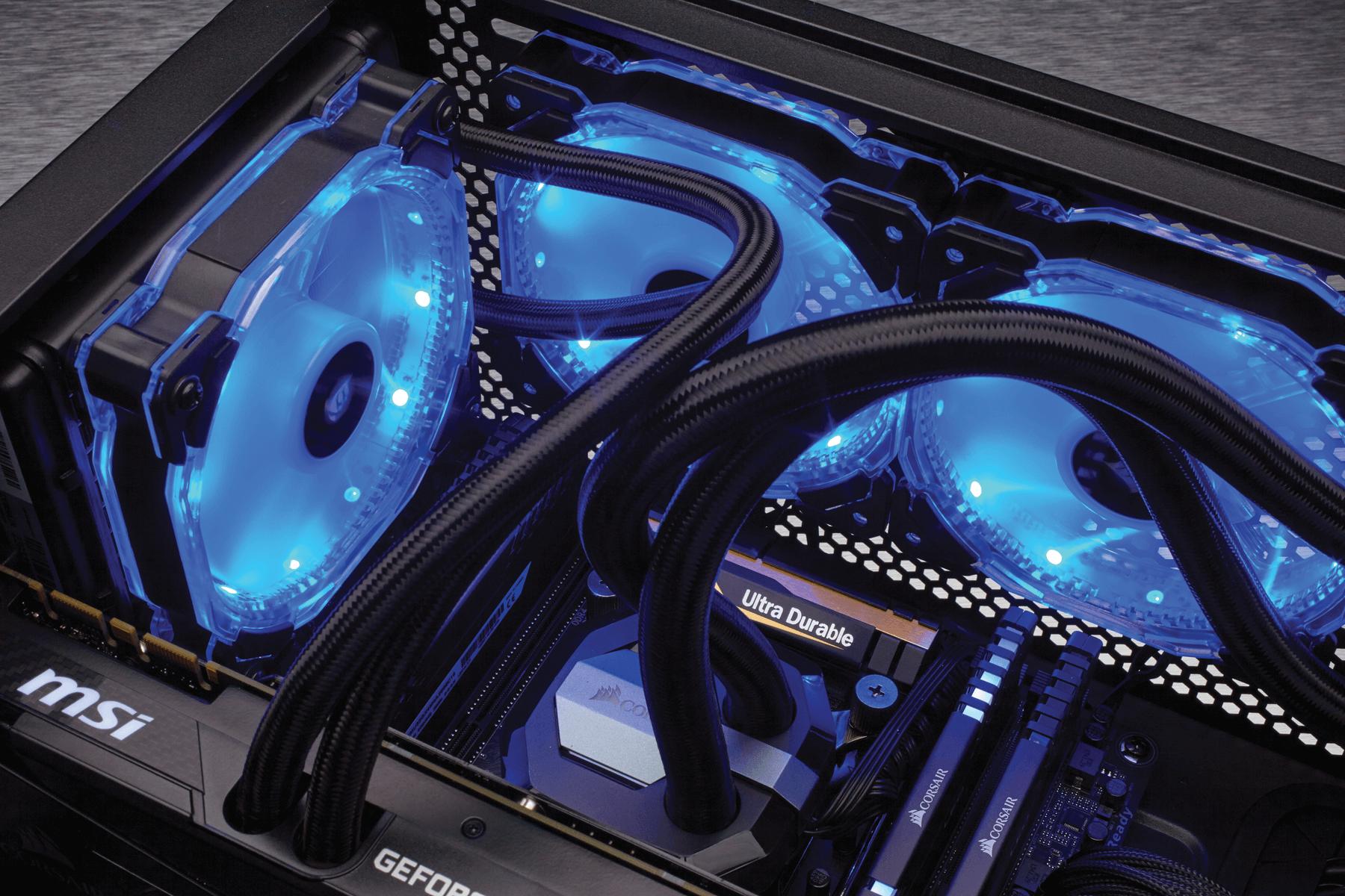 Corsair annonce des ventilo RGB et le 460X RGB Crystal Case