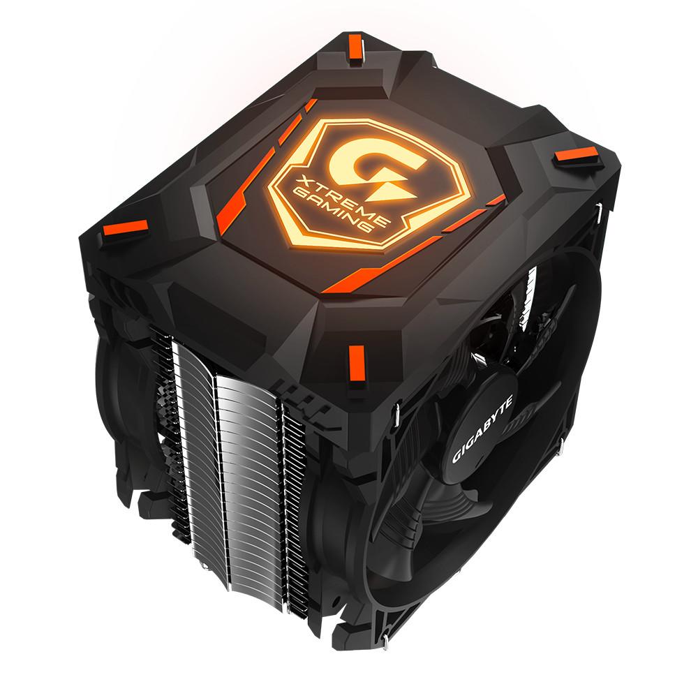 Un ventirad, un clavier et un pouf gaming chez Gigabyte