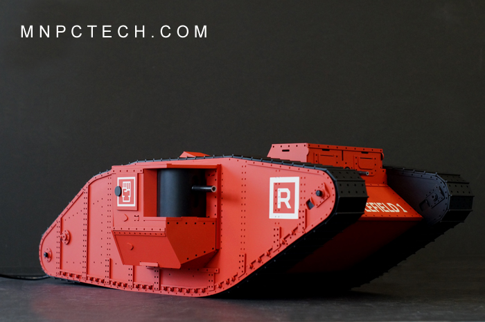 [MOD] Un tank qui turbine au rouge