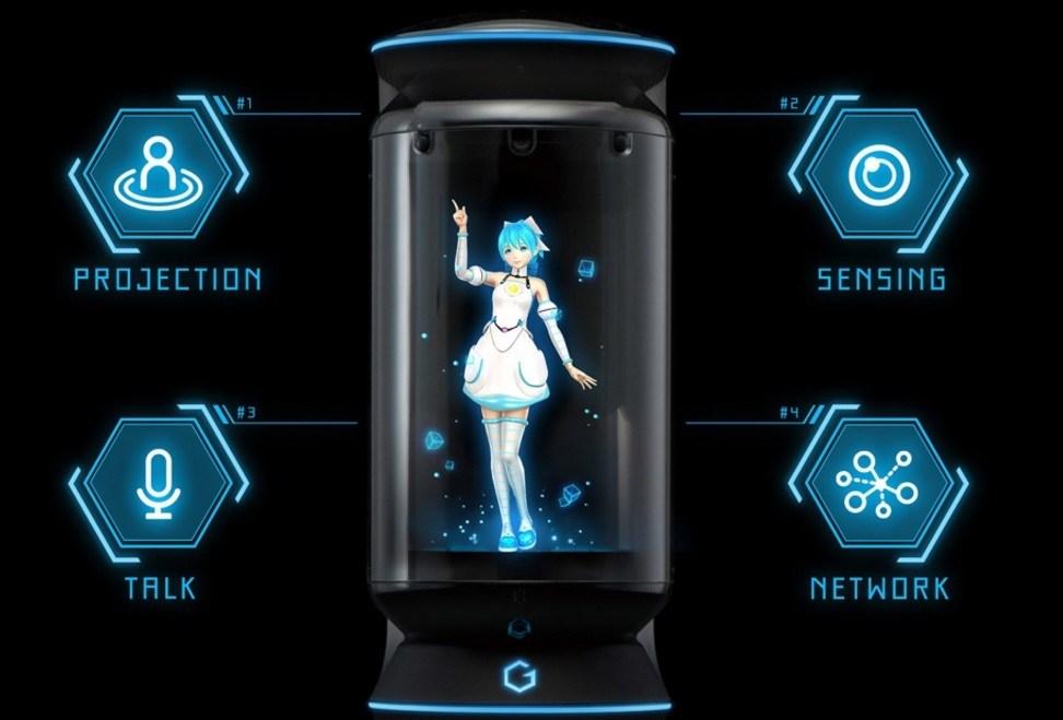 Une copine virtuelle dans un pot ?