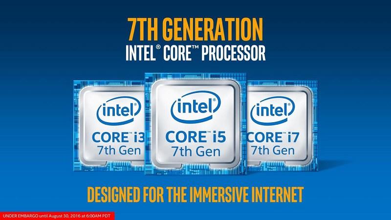 Un i3 7350K à 5 GHz sous watercooling et un gros 7GHz pour le i7-7700K