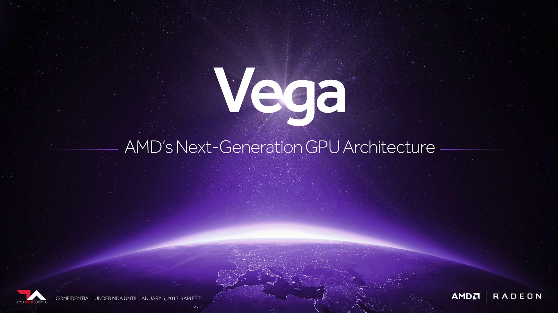 AMD confirme Vega pour ce trimestre, et montre une démo en 8K