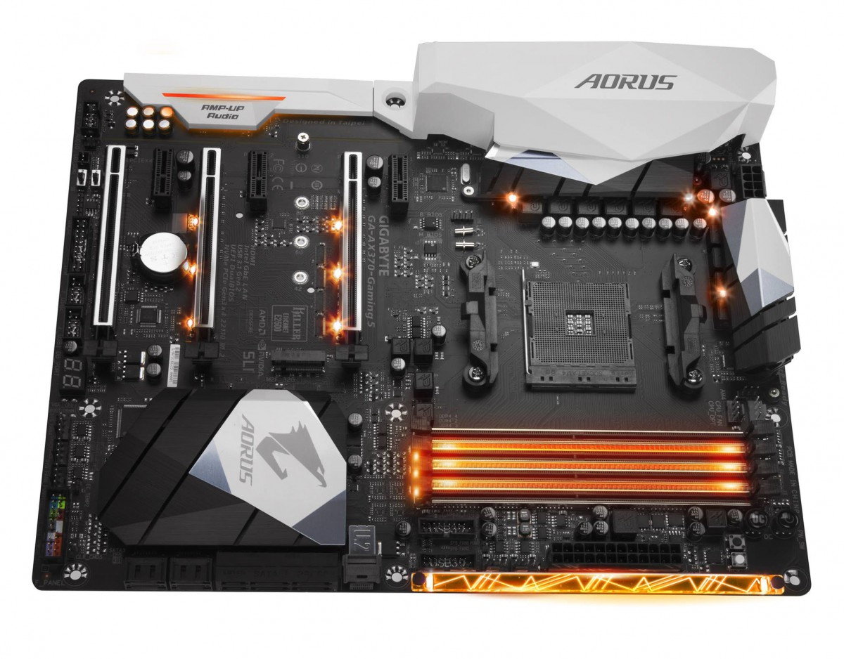 Gigabyte montre sa belle AX-370-Gaming 5
