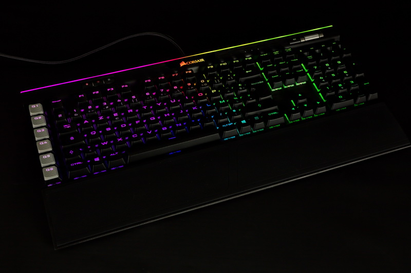 [TEST] Clavier Corsair K95 RGB Platinum