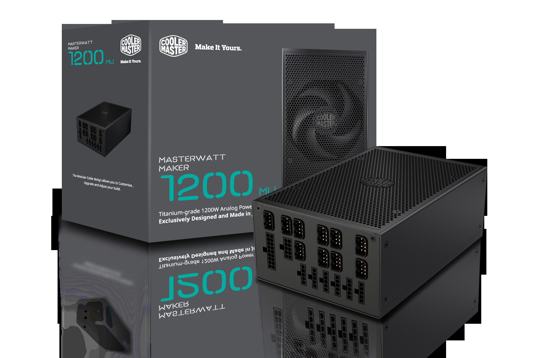 Cooler Master annonce la MasterWatt Maker 1200 MIJ