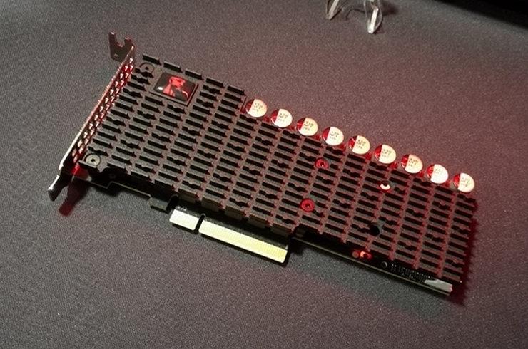 Kingston lance un SSD qui turbine à 6,8 Go / s