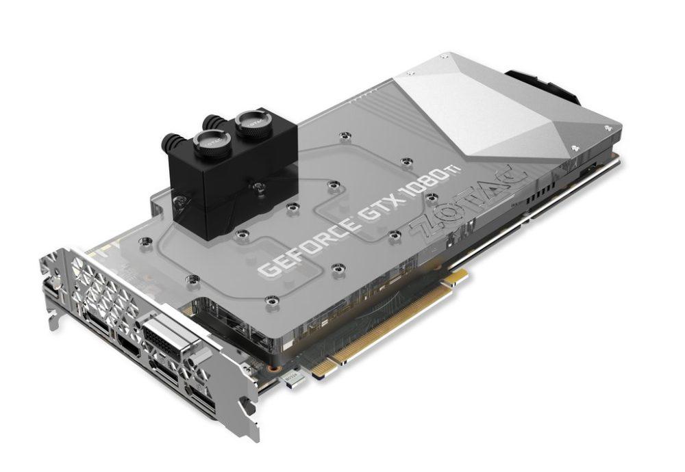 ZOTAC annonce la GeForce GTX 1080 Ti ArcticStorm