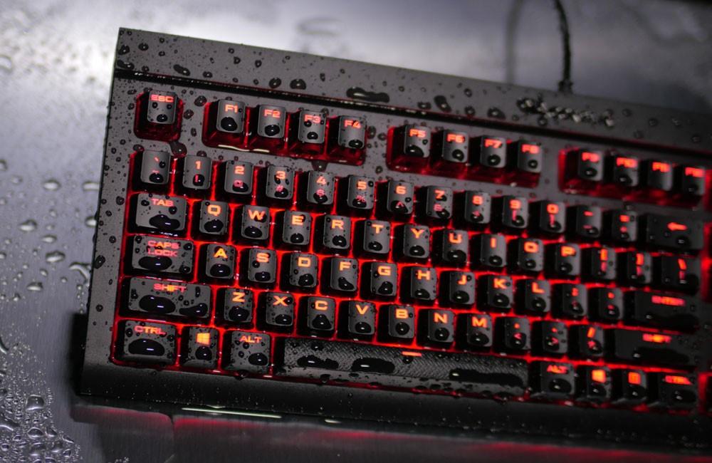 Un clavier qui a soif chez Corsair !