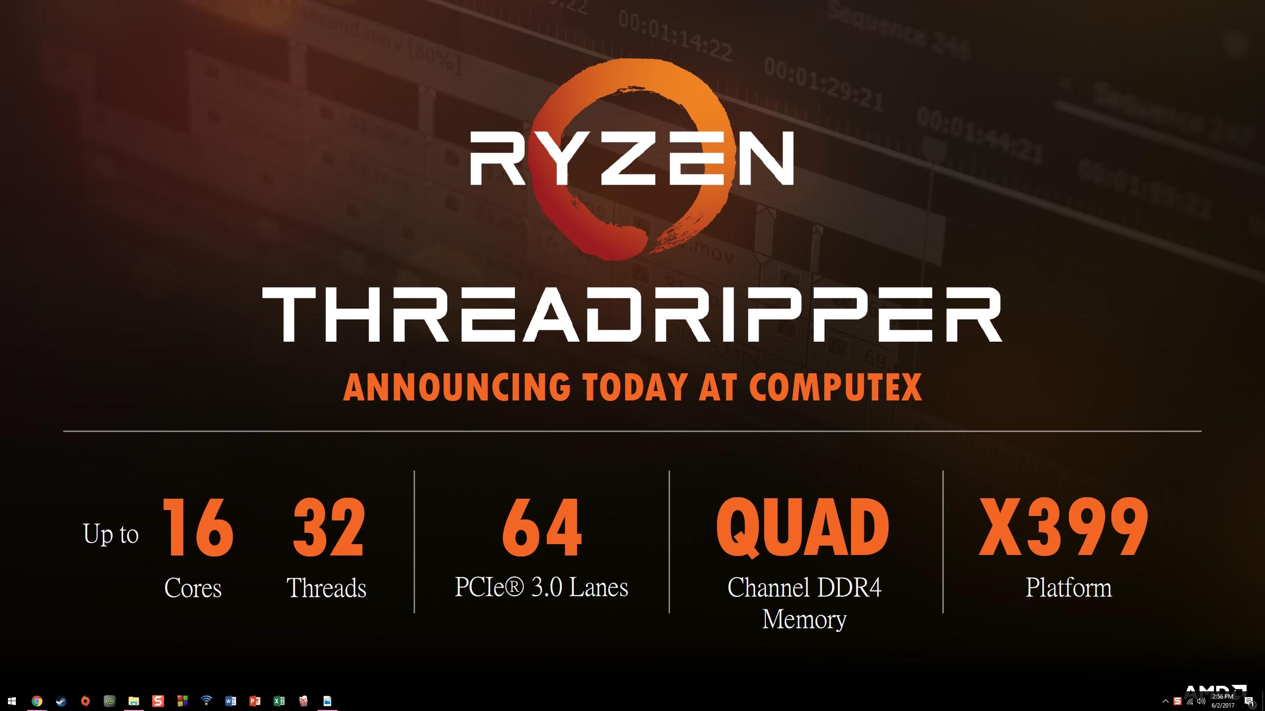 Ryzen ThreadRipper 1950X VS Core i9-7900X