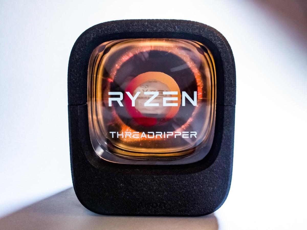 AMD dévoile le packaging de son gros Ryzen ThreadRipper