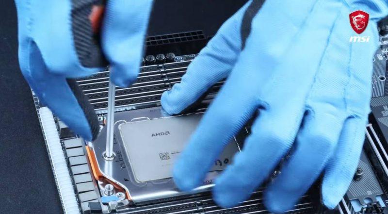 MSI nous explique comment installer un CPU AMD Threadripper sur une carte mère X399