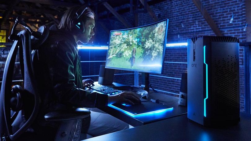 Corsair One nouvelles versions GeForce GTX 1080 Ti et SSD NVMe