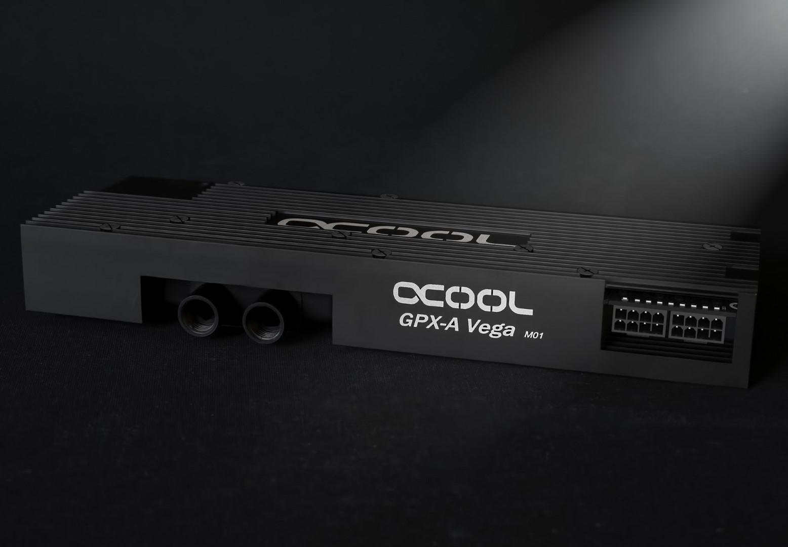 Alphacool sort ses solutions de refroidissement pour Vega, entre autres