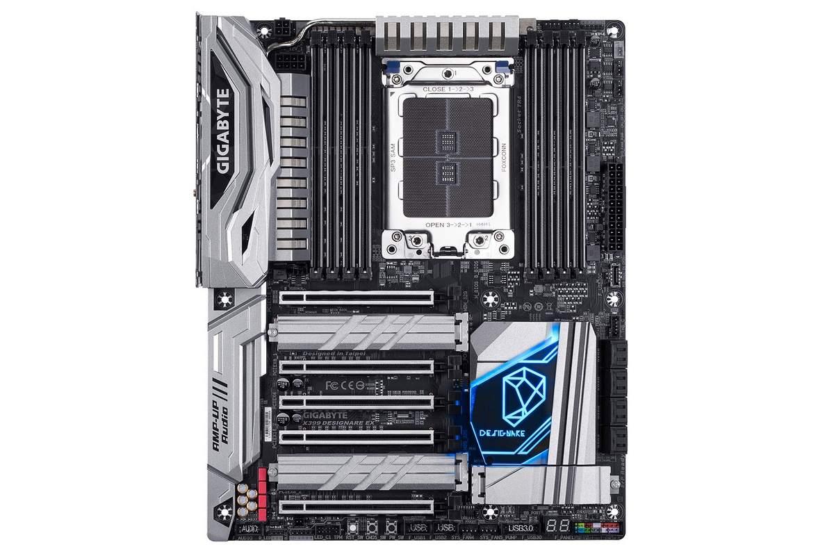 GIGABYTE annonce sa grosse X399 Designare EX