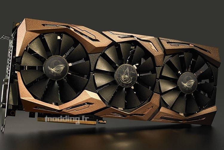 ASUS tease une magnifique STRIX GTX1080Ti limited edition