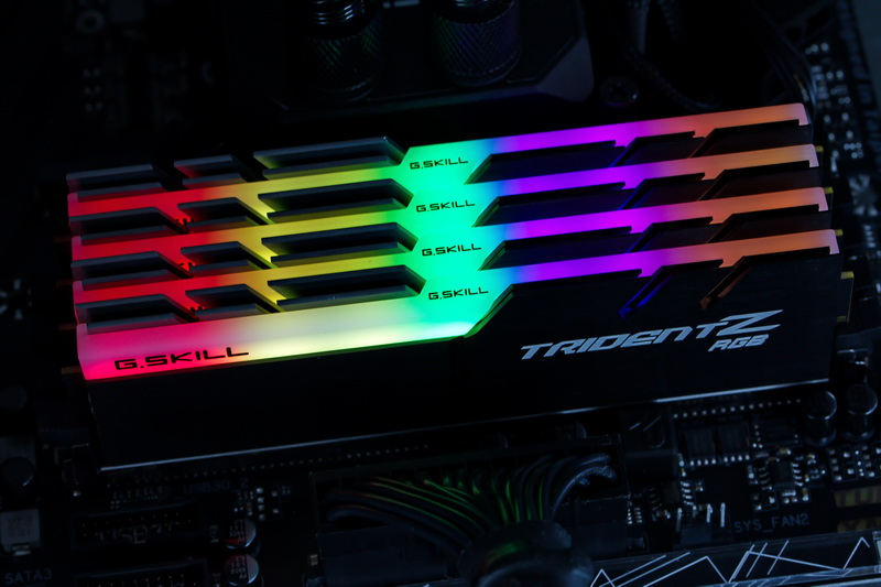 [TEST] Kit DDR4 G.Skill TridentZ RGB 16 Go 3200 MHz