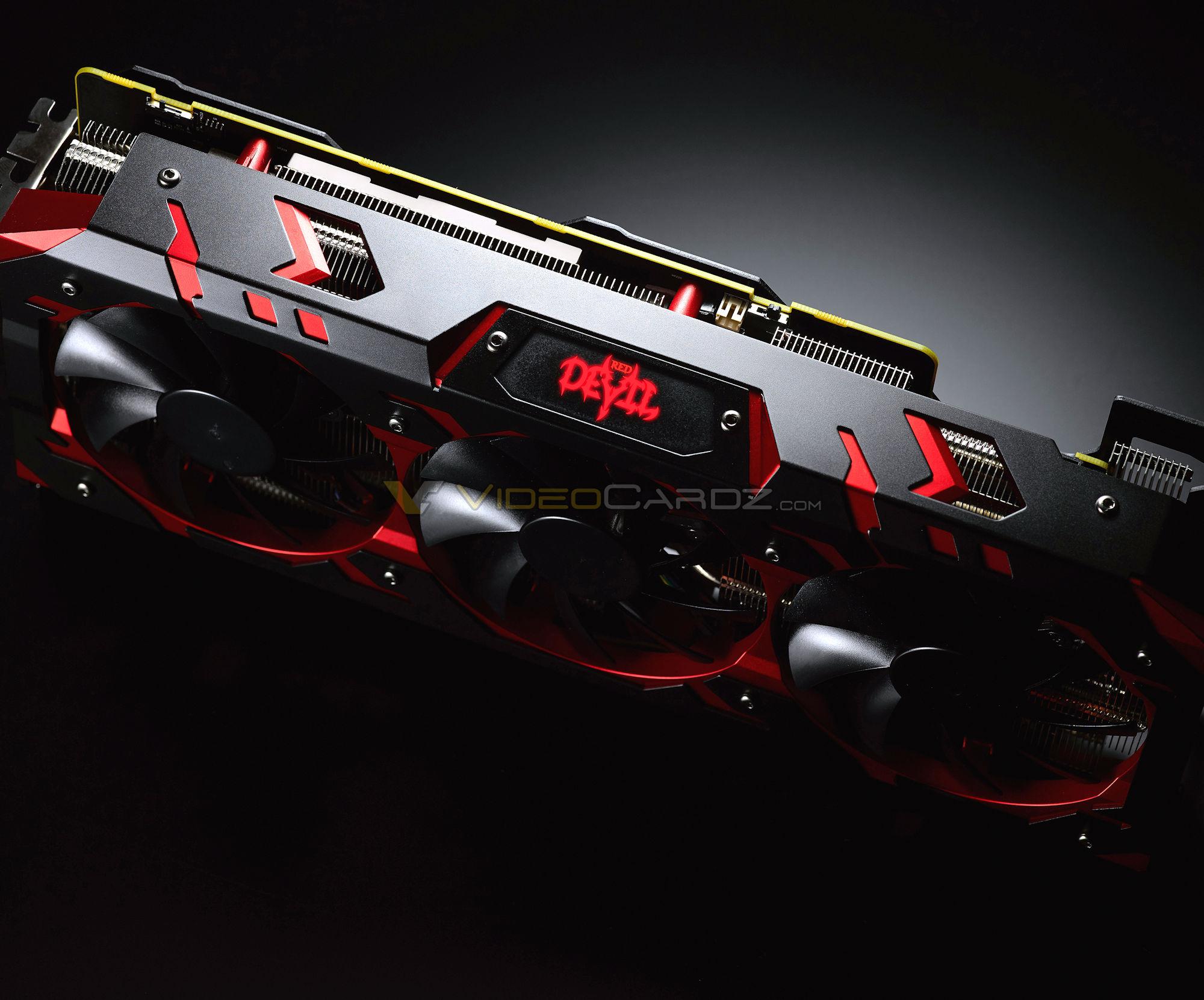 La PowerColor Radeon RX Vega 64 Red Devil se dévoile et ne sera pas si diabolique...