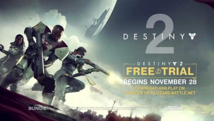 Essayez  Destiny 2 gratuitement!