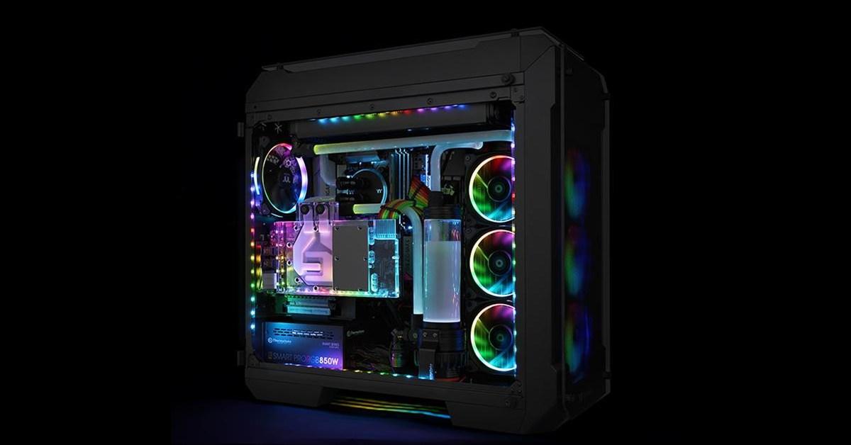 Thermaltake sort un kit d'éclairage RGB