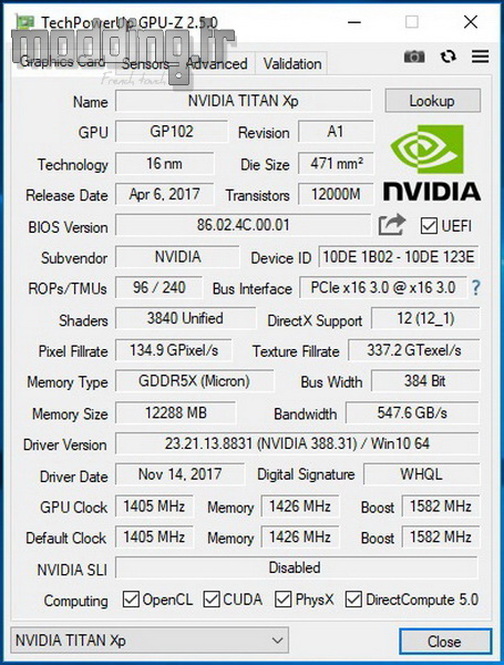 Titan XP test 01