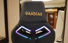 Gamdias montre trois fauteuils gaming avec éclairage RGB