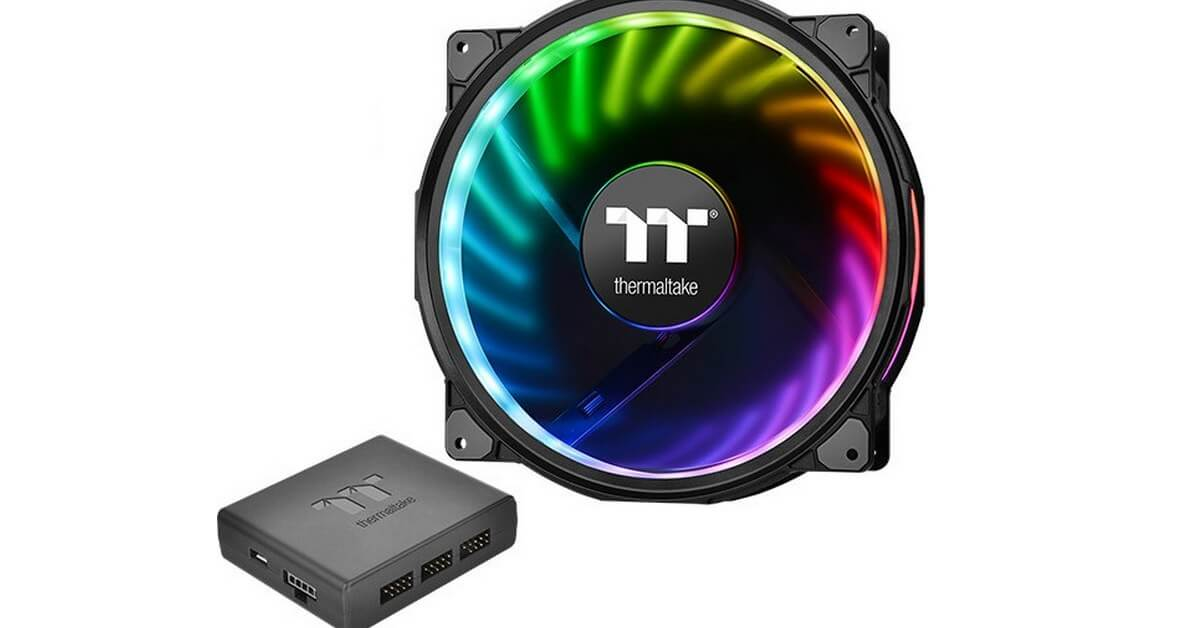 Thermaltake sort un ventilateur RGB en 20cm