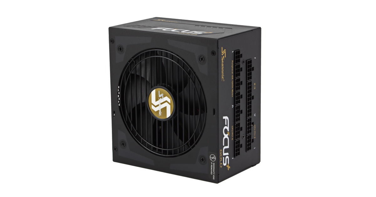 [TEST] Alimentation Seasonic Focus+ Gold 750 W