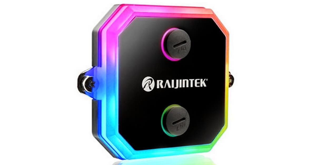 Raijintek dévoile sa pompe Antila D5 et le bloc processeur CWB-RGB