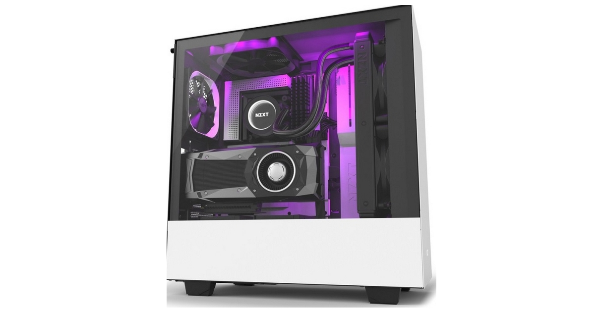 NZXT annonce ses Mid-Tower H500 et H500i