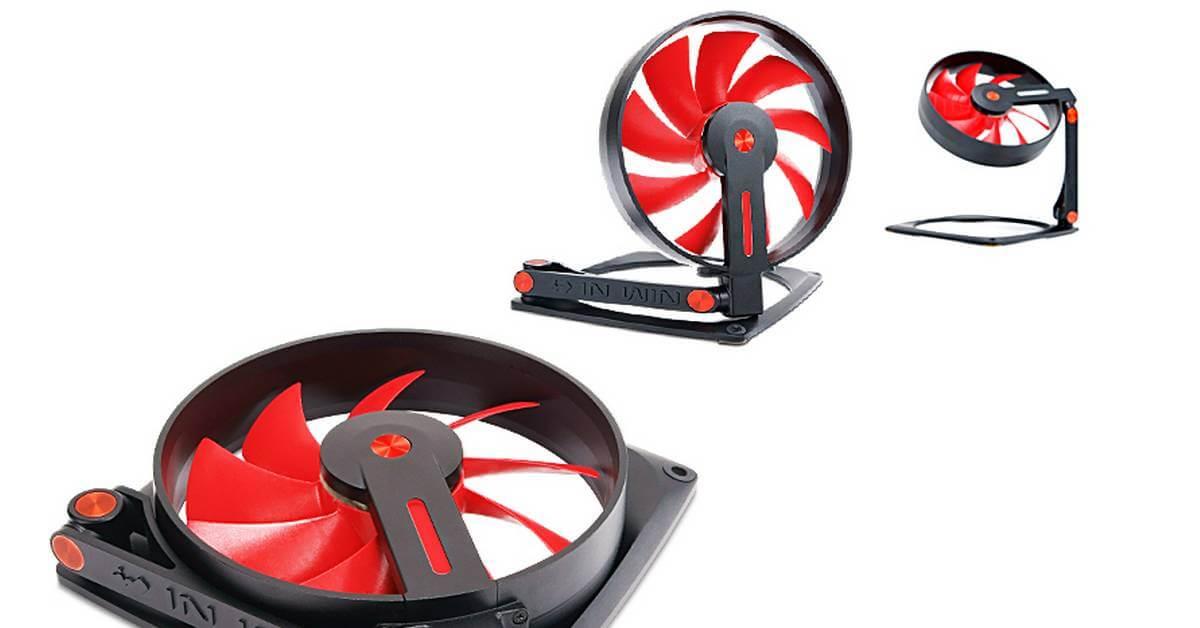 Le ventilateur orientable In Win Mars disponible pour 59,90 euros