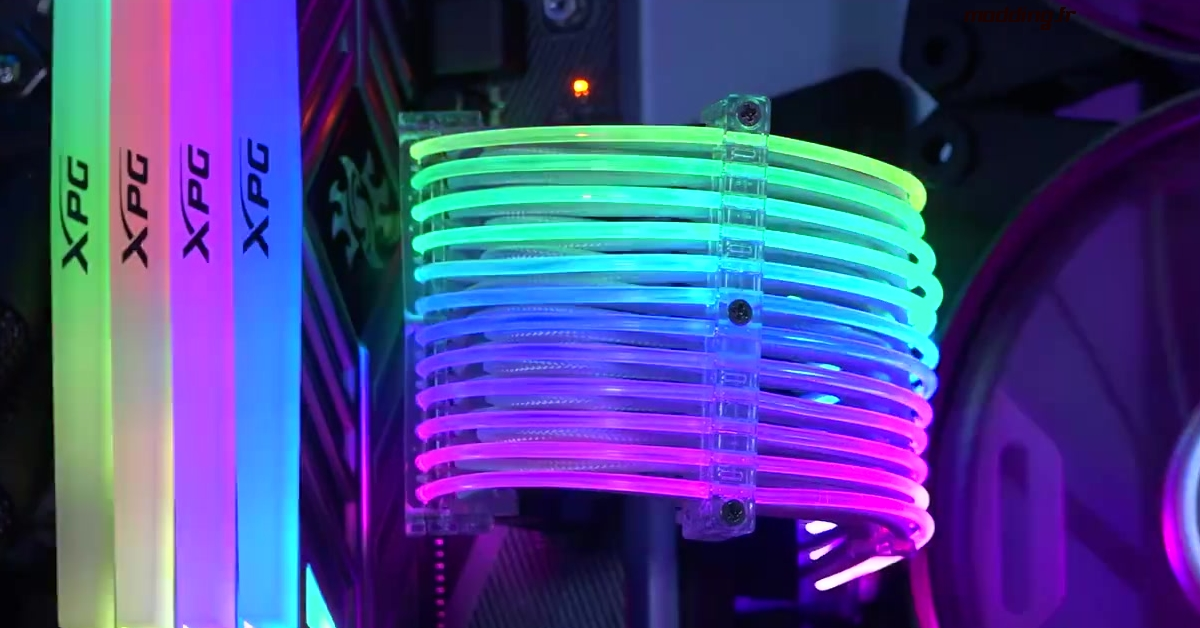 Computex 2018 – Des câbles RGB chez Lian Li