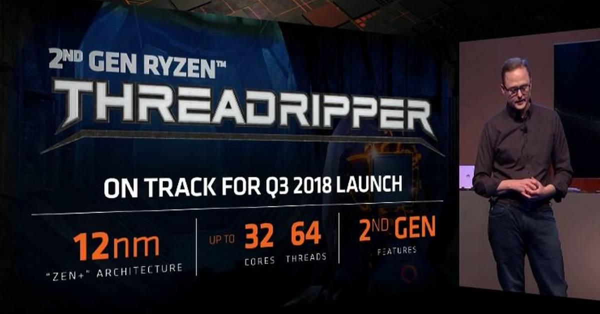 Spécifications du Ryzen Threadripper 2990X 32-core d'AMD