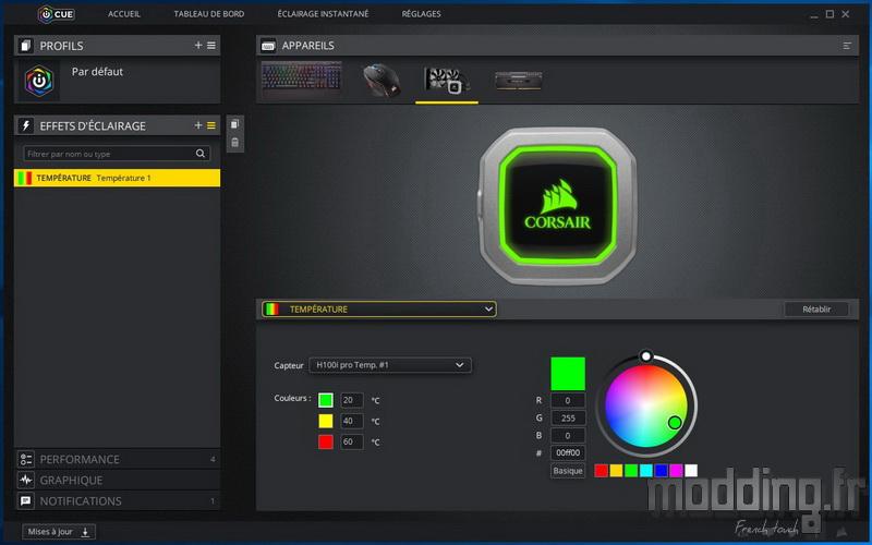 H100i Pro RGB Log 10